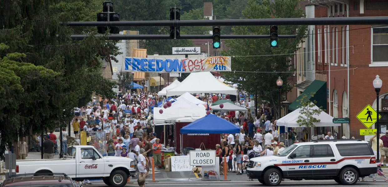 Fourth of July Street festival