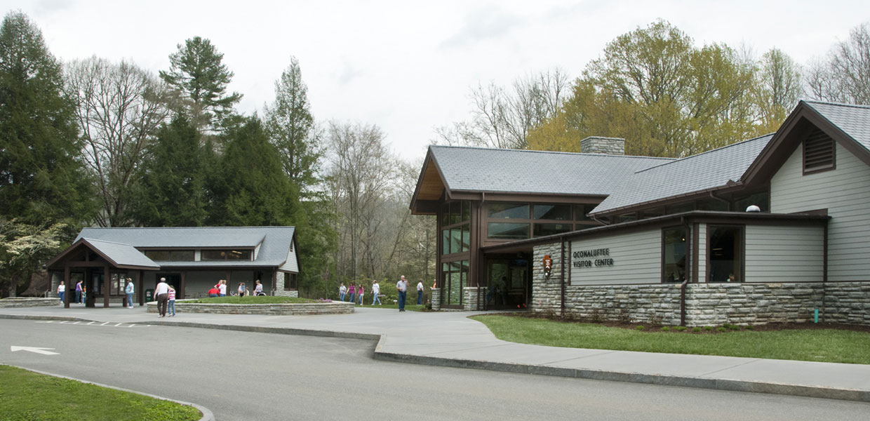 visitor center buildings